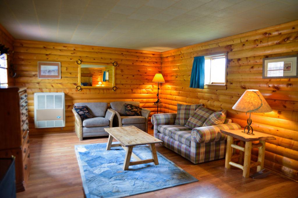 Beaver Cabin Master Bedroom