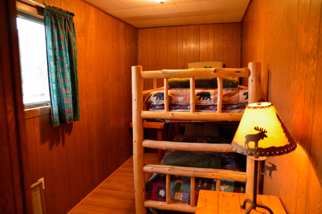 Beaver Cabin Master Bedroom